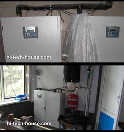 Автоматизация теплового насоса