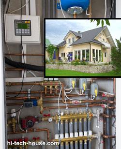 Автоматизация индивидуального теплового пункта в частном доме
