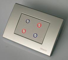 Управление системой осуществляется программно. Программа может легко модифицироваться в дальнейшем по требованию заказчика